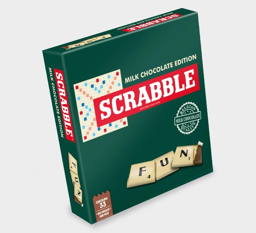Scrabble® chocolade spel