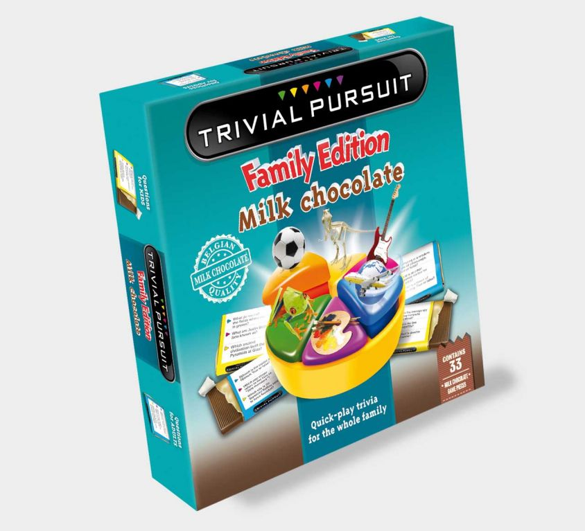 Trivial Pursuit™ chocolate game