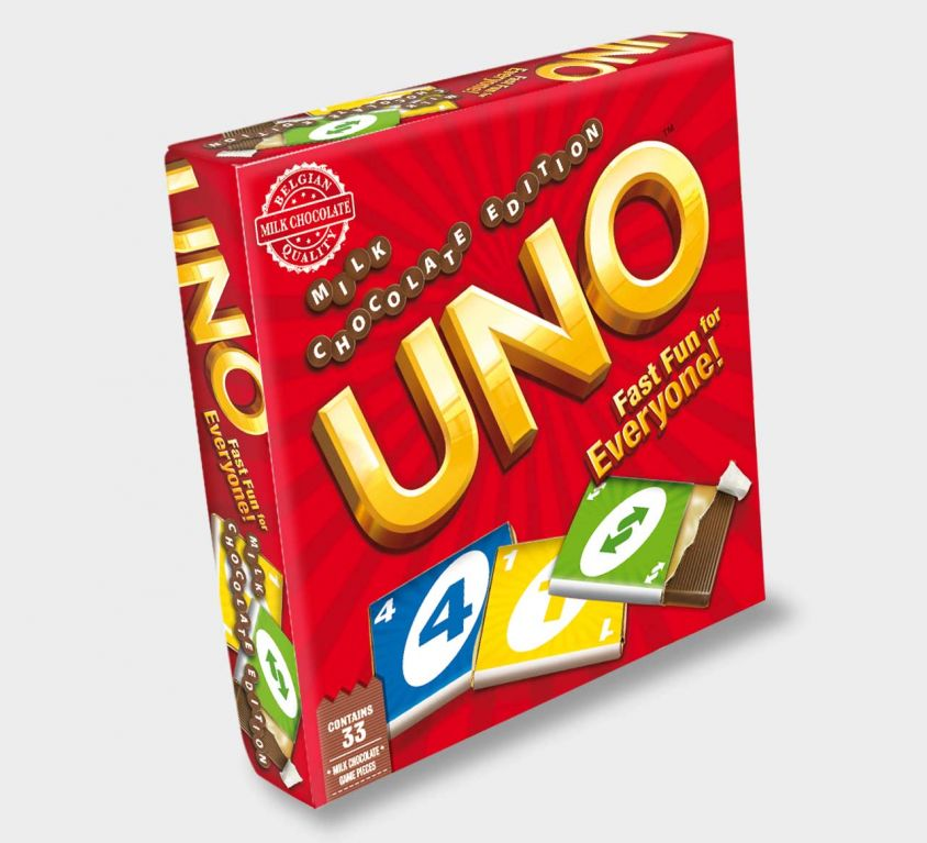 UNO chocolate game